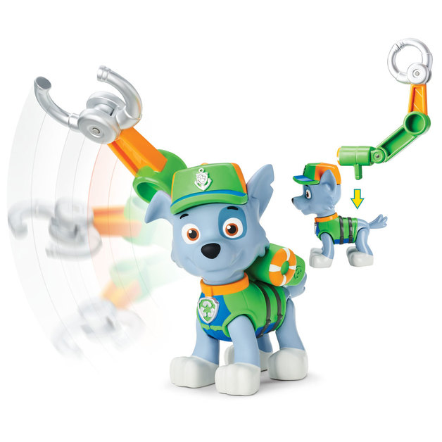 Paw Patrol Lifeguard Rocky Toy At Mighty Ape Nz