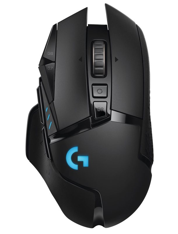 Logitech G502 Lightspeed Wireless RGB Gaming Mouse for PC