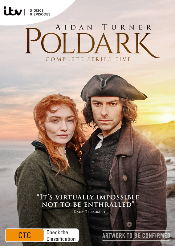 Poldark: The Complete Fifth Season on DVD