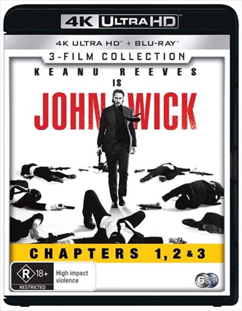 John Wick - 3-Movie Franchise Pack on UHD Blu-ray image