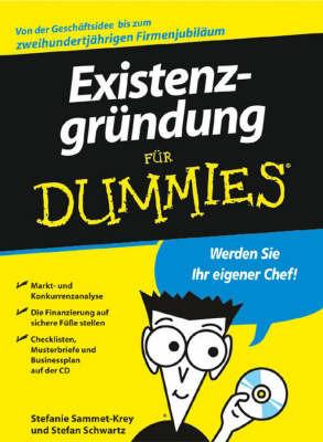 Existenzgrundung fur Dummies by Stefan Schwartz