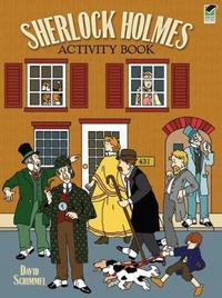Sherlock Holmes Activity Book by David Schimmell image