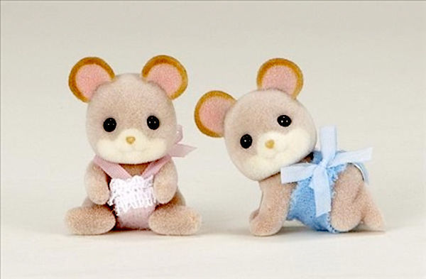 Sylvanian Families: Maces Mouse Twins
