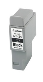 Canon BCI-24BK Black Ink Tank (Dual Pack)  suitable for Canon i250 i320 i350 i450 i455 i470D  S200SP S200SPx S300 S330 Bub