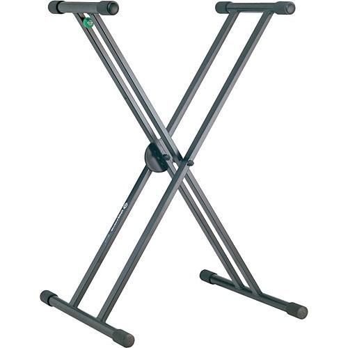 "K&M Double braced keyboard stand ""rick"""