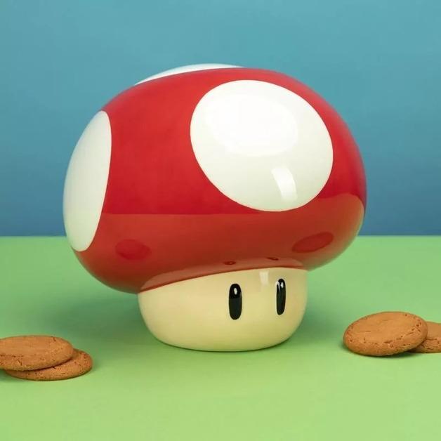 Super Mushroom Cookie Jar