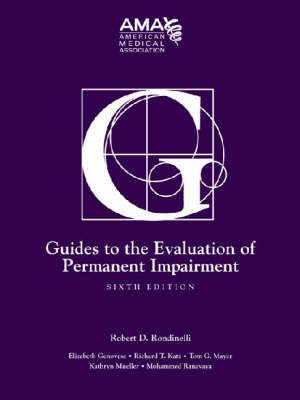 Guides to the Evaluation of Permanent Impairment by American Medical Association image