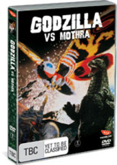 Godzilla Vs Mothra - Battle For Earth on DVD