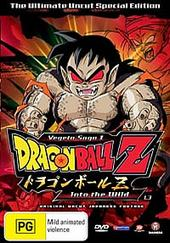 Dragon Ball Z Uncut: Vegeta Saga - Vol 1.3 - Into The Wild on DVD
