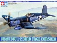 Tamiya U.S. Chance Vought F4U-1 / 2 Bird Cage Corsair 1/48 Aircraft Model Kit