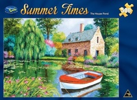Holdson: 500pce Puzzles - Summer Times The House Pond