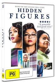 Hidden Figures on DVD image