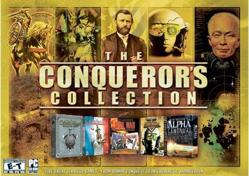 The Conqueror's Collection for PC Games image