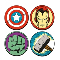 Marvel: Character Icon Coasters - Set of 4