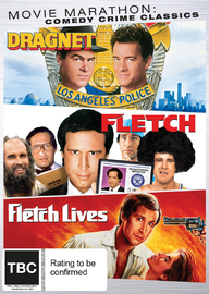 Movie Marathon: Comedy Crime Classics Triple Pack (Fletch / Fletch Lives / Dragnet) on DVD