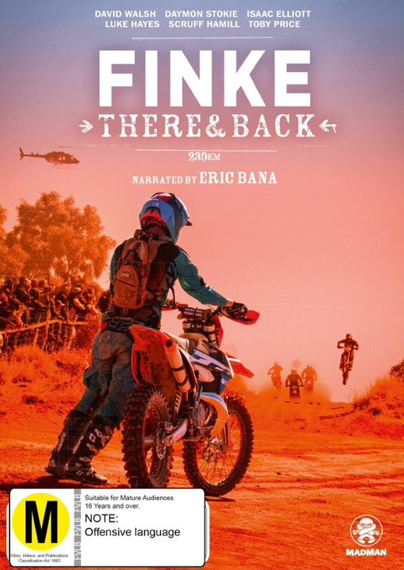 Finke: There and Back on DVD