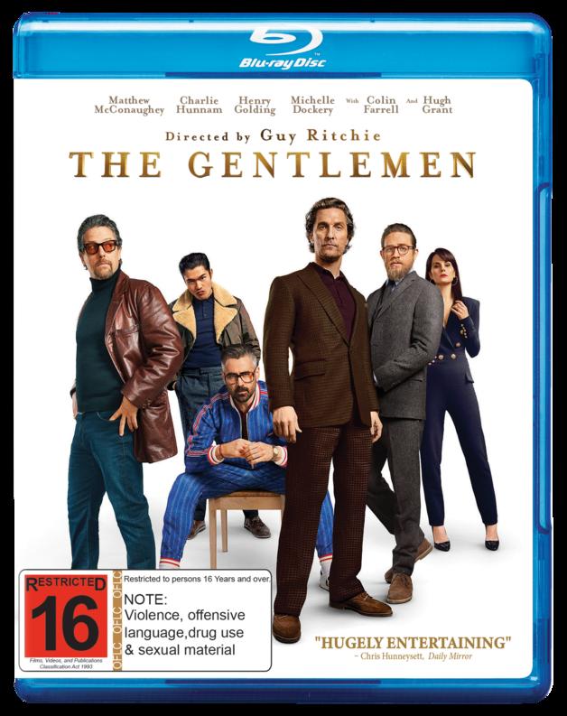 The Gentlemen on Blu-ray