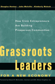Grassroots Leaders for a New Economy by Douglas Henton image