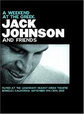 Jack Johnson - A Weekend At The Greek on DVD