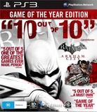 Batman: Arkham City Game of the Year Edition for PS3