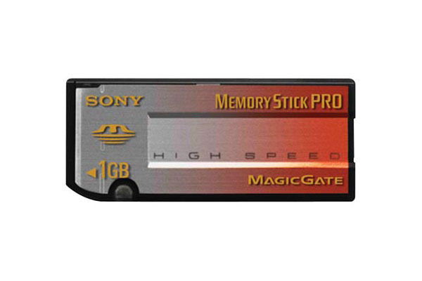 Sony Memory Stick Pro (High Speed) 1GB MSX1GN
