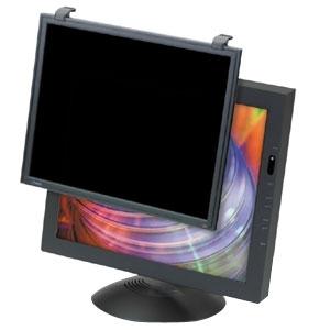 "3m PF400XLB Privacy Computer Screen Filter  Monito 16""-19""  95% Antiglare  Antiradiation   with Black Frame"