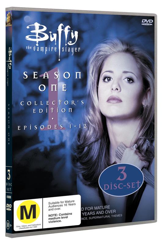 Buffy - The Vampire Slayer: Season One on DVD