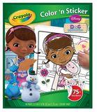 Crayola - Colour & Sticker Book Doc Mcstuffins