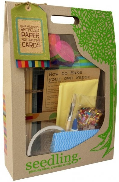 Make your own Recycled Paper for Greeting Cards - Craft Kit