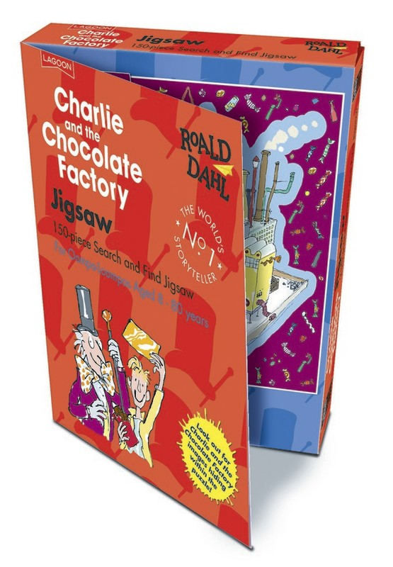 Roald Dahl - Charlie & The Chocolate Factory Jigsaw