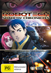 Robotech - Shadow Chronicles on DVD