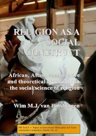 Religion as a Social Construct by Wim van Binsbergen image