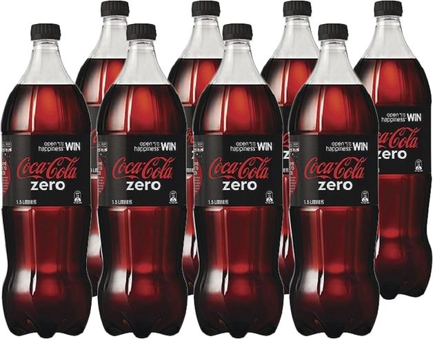 Coke Zero Soft Drink (1.5l X 8)