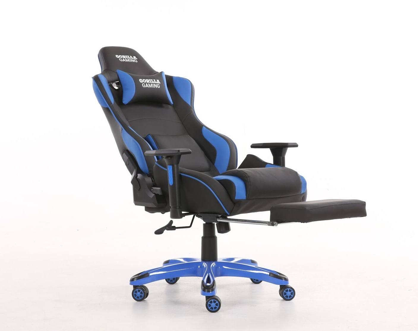 Gorilla Gaming Prime Ape Chair - Blue & Black for  image
