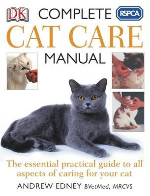 RSPCA Complete Cat Care Manual by Andrew Edney image
