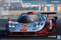 Aoshima: 1/24 Mclaren F1 GTR (1997 Lemans-24h Gulf #41) - Model Kit