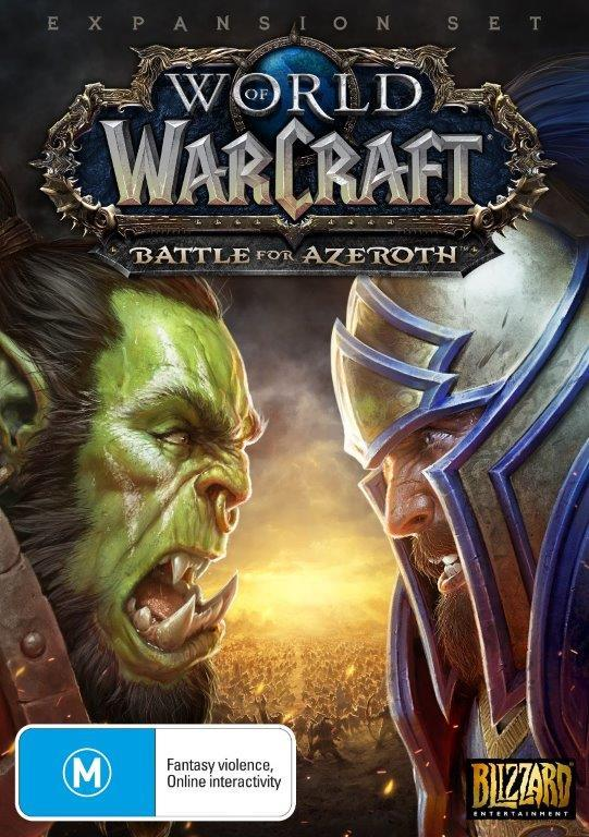 b01e36295 World of Warcraft: Battle for Azeroth (Code in Box) | PC | Buy Now ...