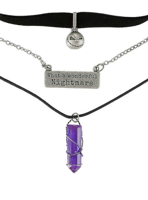 Neon Tuesday: Nightmare Before Christmas - 3 Piece Necklace Set image