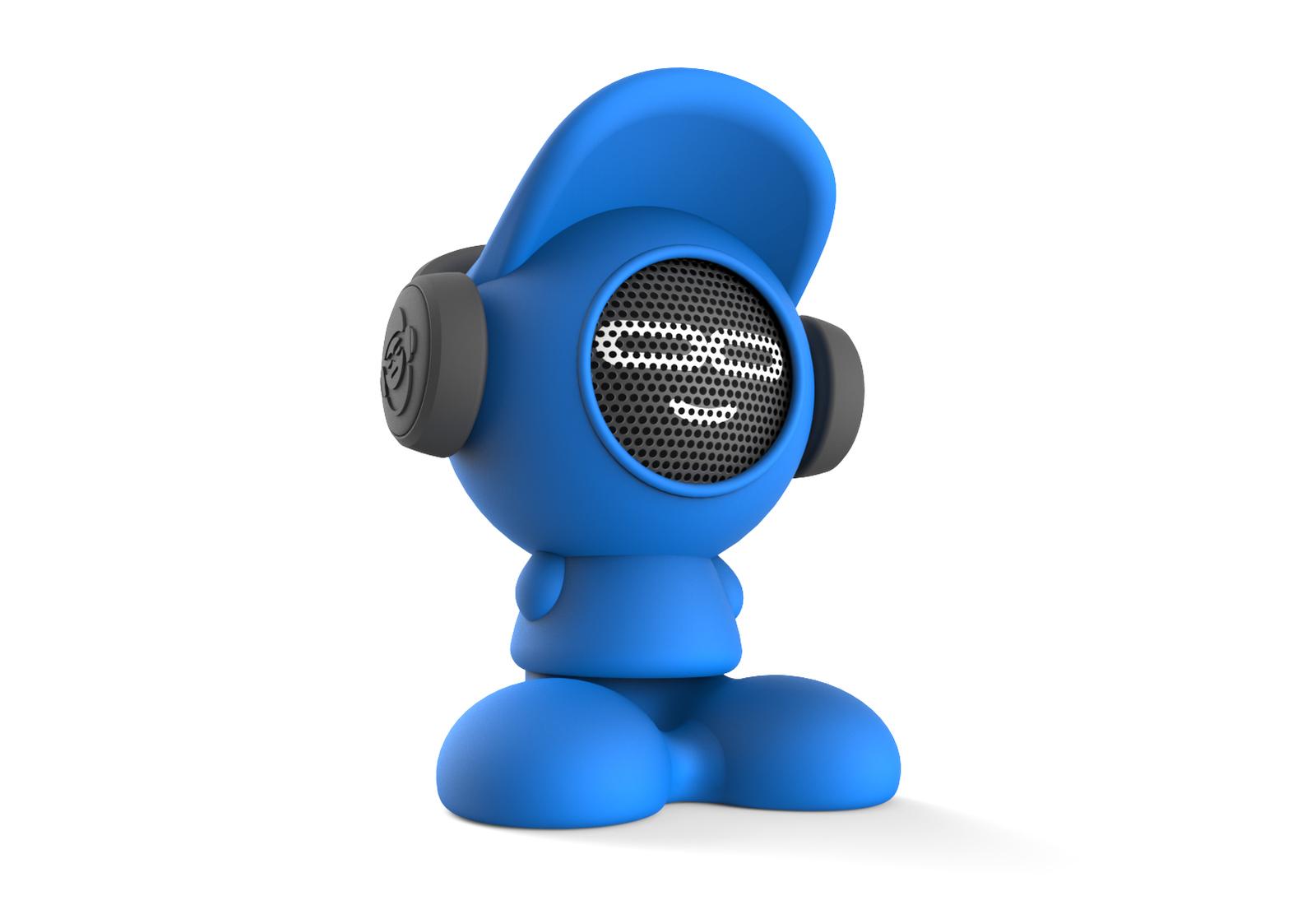 iDance Beatdude Bluetooth Wireless Speaker- Blue image