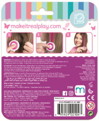 Make It Real: Hair Deco Set - Pink image