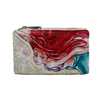 Loungefly: Little Mermaid - Ariel Sketch Print Wallet