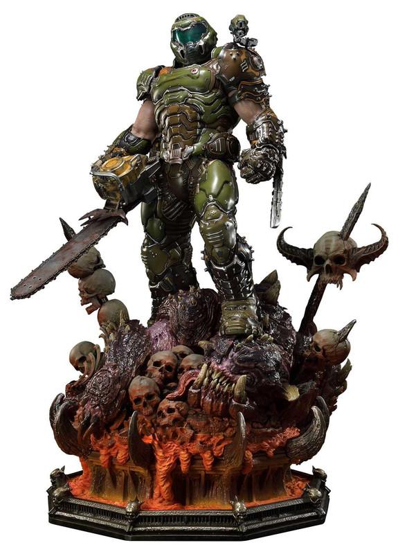 """Doom: Eternal - Doom Slayer [Ultimate] - 43"""" Premium Statue"""