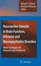 Neuroactive Steroids in Brain Function, Behavior and Neuropsychiatric Disorders image