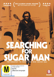 Searching For Sugar Man DVD