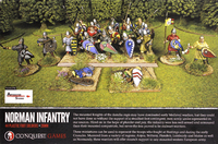Conquest Games: Norman Infantry