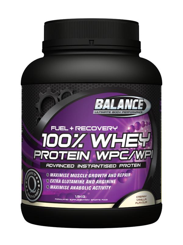 Balance 100% Whey Protein 'Original' - Vanilla (1.5kg)