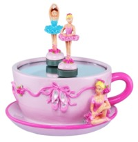 Pink Poppy: Dancing Ballerina - Musical Tea Cup