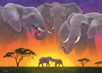 Holdson: Wild at Heart 1000pc puzzle - Guardians of the Earth