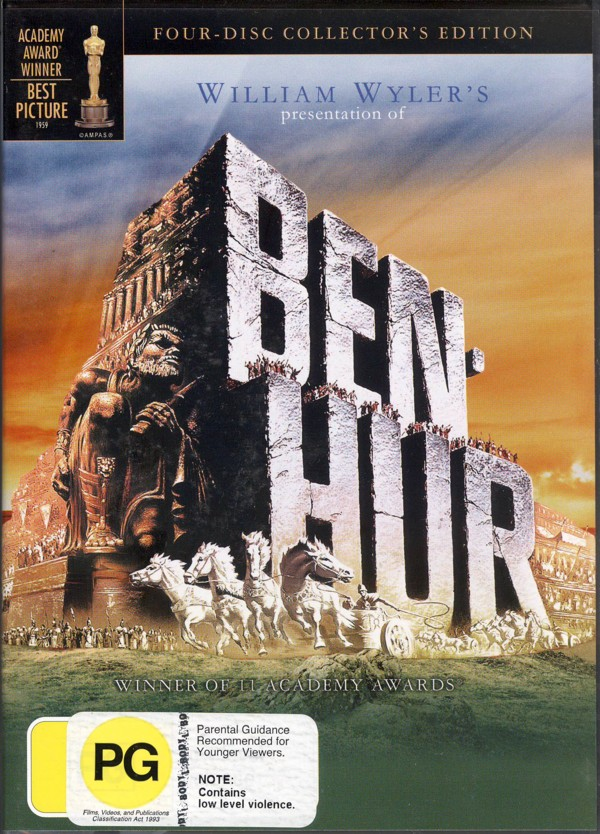 Ben Hur: Collectors Edition (4 Disc) on DVD image