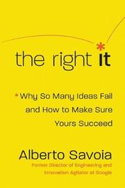 The Right It by Alberto Savoia